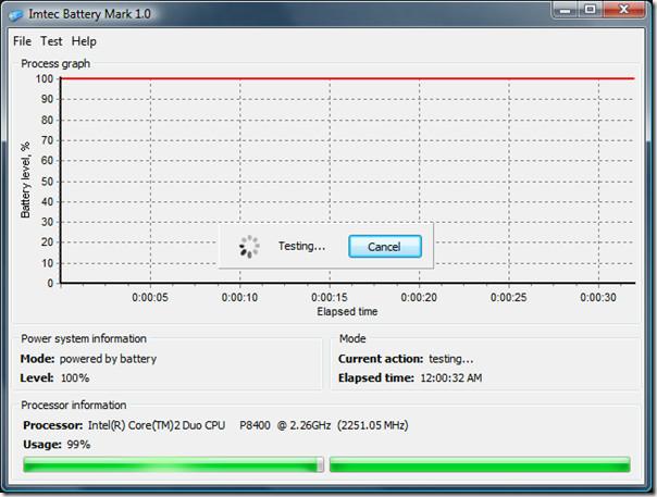Imtec Battery Mark Tester