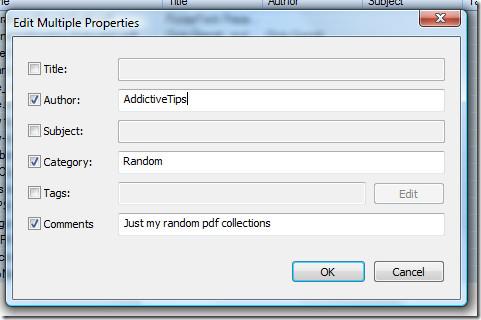 edit multiple properties