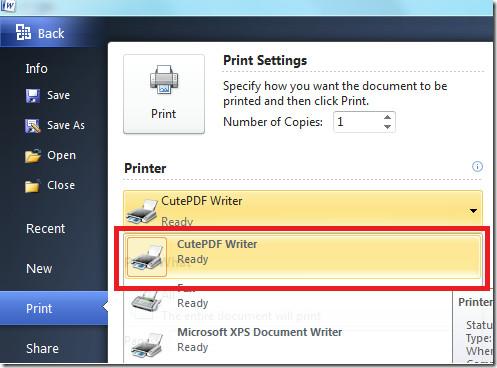 print pdf document windows 7
