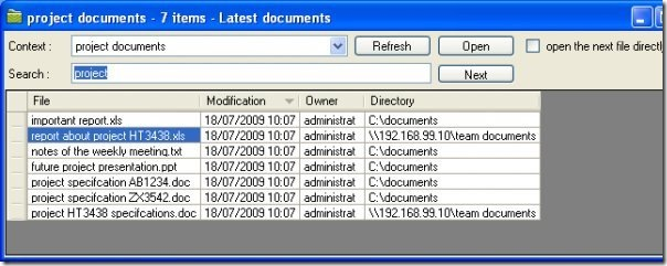 updated documents
