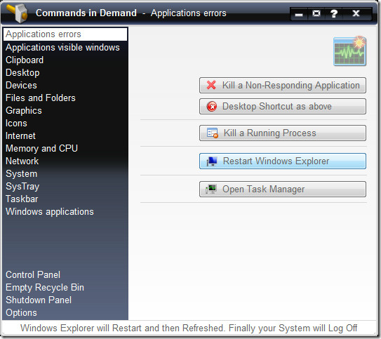 windows application errors