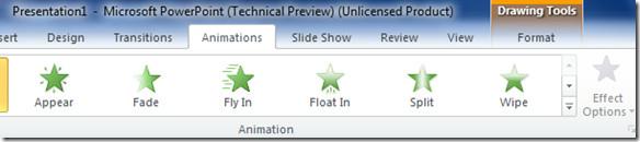 Animation PowerPoint 2010