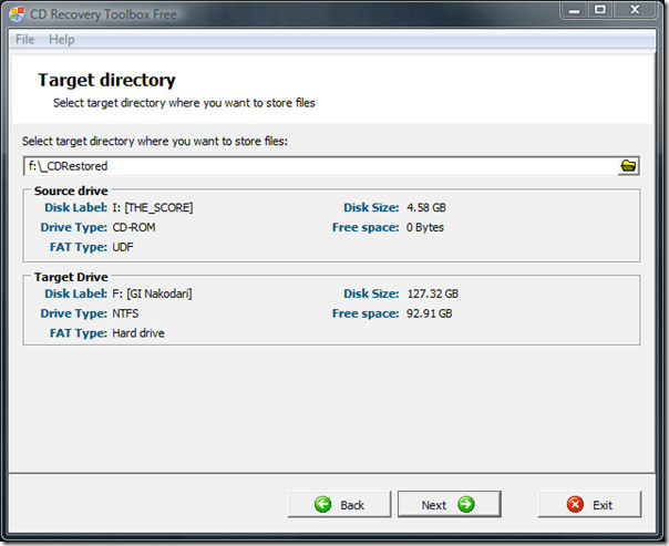 Blu-Ray Recovery Toolbox Free