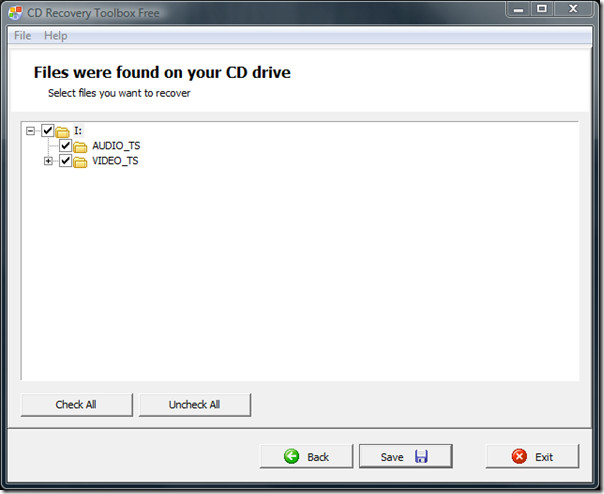 Blu-Ray Recovery Toolbox Free 2