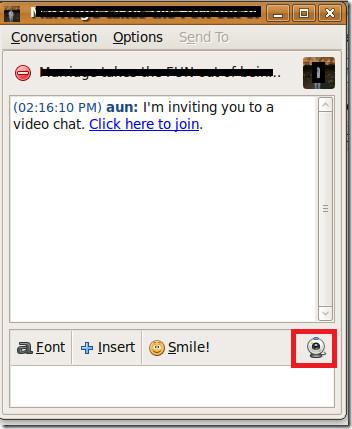 Pidgin-Video-Chat