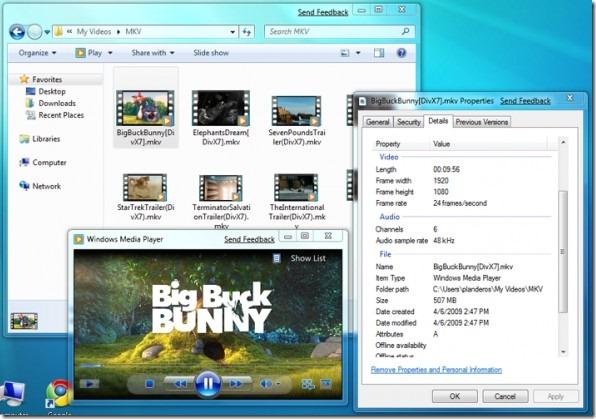 Play Mkv on Windows 7