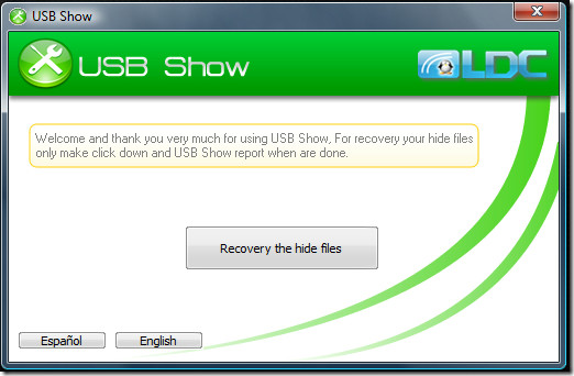 Recovery The Hide Files