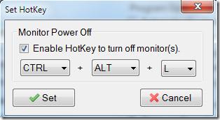 Set HotKey