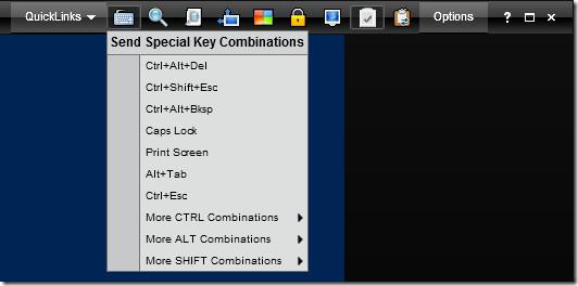 Special  Keys Remote Control
