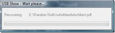 recover hidden files
