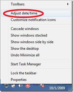 Adjust date-time