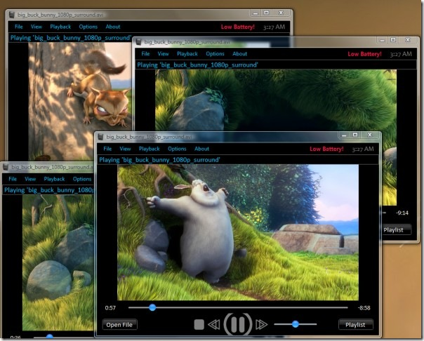 AniPlayer multiple players