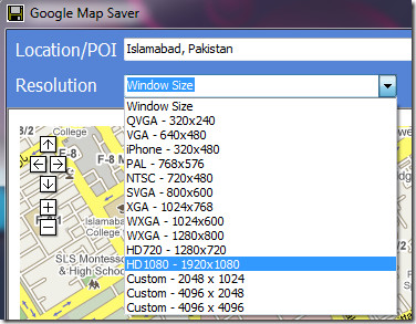 Google Maps Resolution