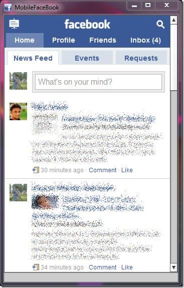 MobileFacebook