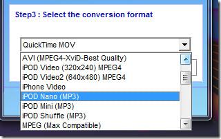 Mp3 ipod convert