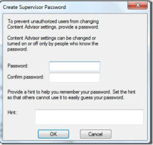 SuperVisior Password