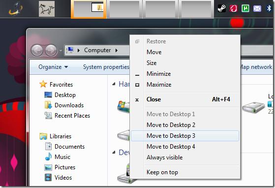 virtual desktops taskbar