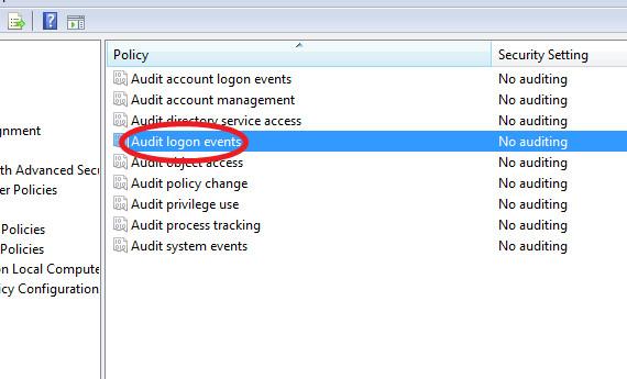 Audit Logon Events