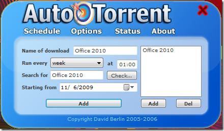 Auto Torrent