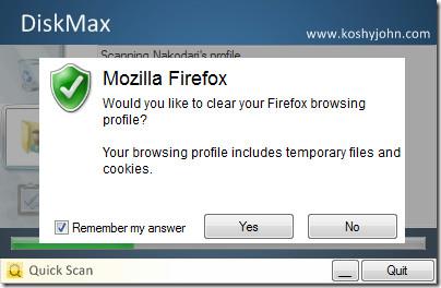 DiskMax Firefox