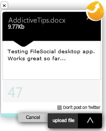 FileSocial File Sharing