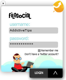 FileSocial Uploader
