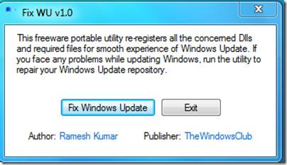 Fix Windows Updates