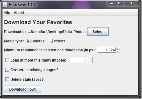 FlickrFaves