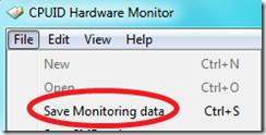 Save Monitoring Data