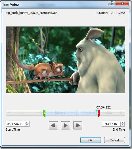 Trim Video PowerPoint