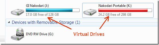 Virtual Drives