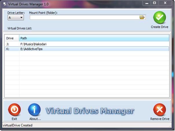 Virtual Drives Manager