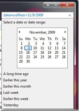 date modified