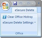 esecure delete word