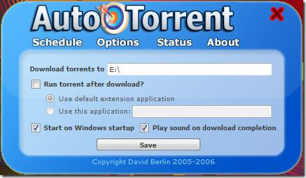 schedule torrent download
