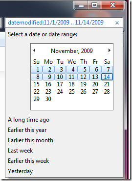 search between two dates