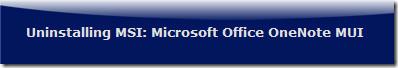 uninstalling Microsoft Office 2010