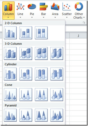 Excel 2010 Chart
