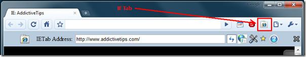 IE Tab Google Chrome