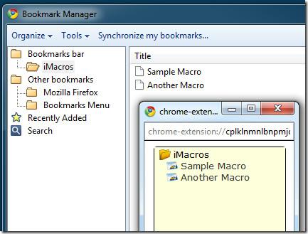 Macro Bookmark