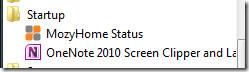 OneNote 2010 Screen Clipper shortcut