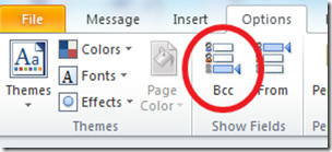 Outlook 2010 BCC