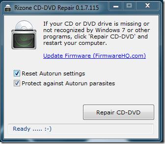 Windows 7 CD-DVD Repair