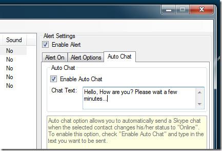 AutoChat In Skype