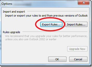 Export Rules