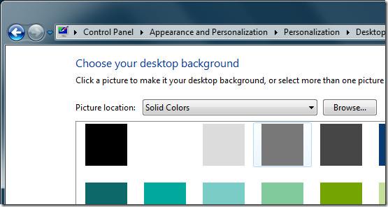 Solid Color Desktop Background