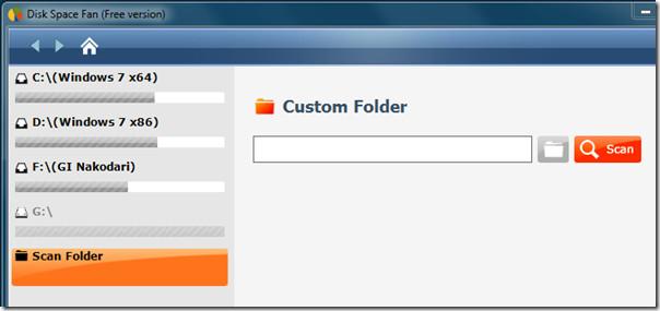 Custom Folder Scan