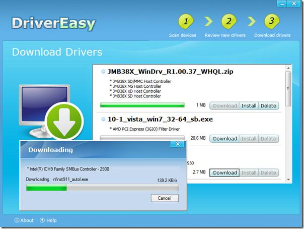Driver Easy Installation