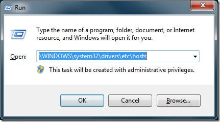 Run Winhosts Windows 7