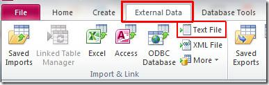 access external1